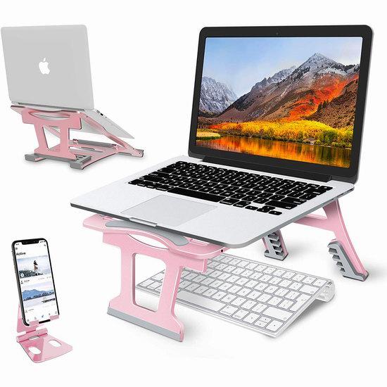 白菜价!WONDAY 便携式可折叠 三模式 平板/笔记本支架+手机支架3.7折 16.4加元清仓并包邮!4色可选!