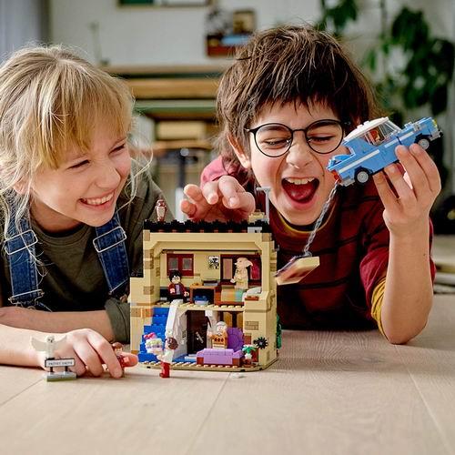 史低价!LEGO乐高 75968 哈利波特系列 女贞路 4号 76.99加元,原价 99.99加元,包邮