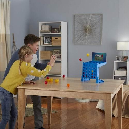 白菜价!历史新低!Hasbro 孩之宝 Connect 4 Shots 弹跳球射击游戏3.3折 11.87加元,原价 36.45加元