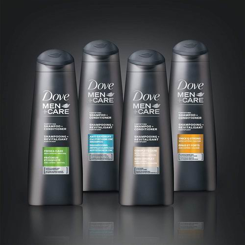 Dove Care Fortifying男士2合1洗发水 750毫升 5.99加元,原价 8.63加元