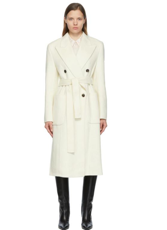 LOW CLASSIC 羊毛大衣 8.5折 845.75加元,101801平价替代款低至1024.25加元