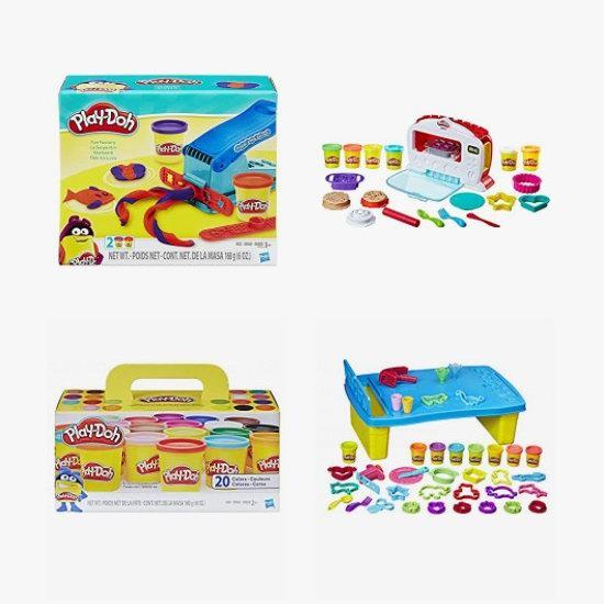 金盒头条:精选大量 Play-Doh 培乐多 橡皮彩泥玩具等4.5折起!低至3.97加元!