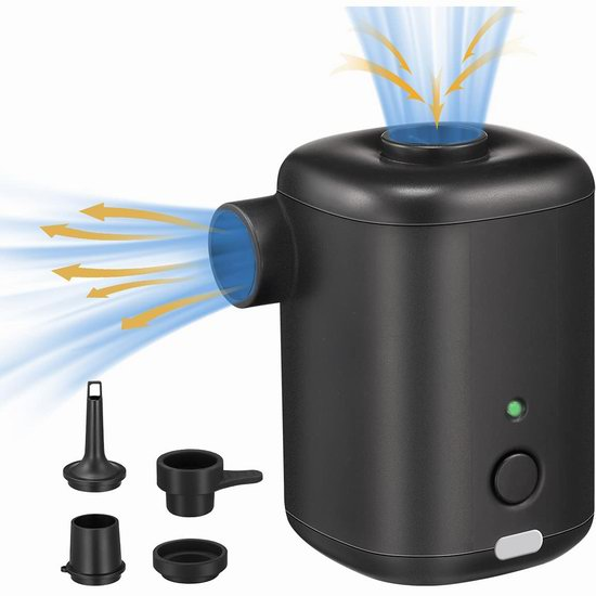 Coralov 可充电 多用途快速充气泵4.7折 18.49加元包邮!