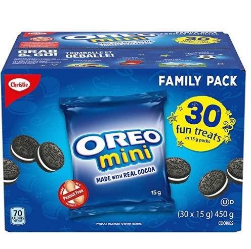 Oreo Mini Fun Treats 夹心饼干 450克 6.98加元,原价 7.98加元