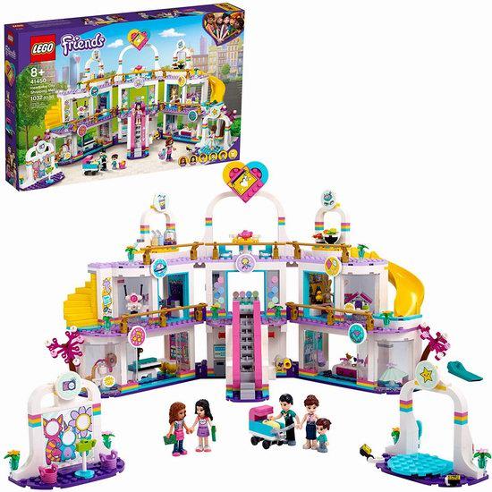 历史新低!LEGO 乐高 41450 好朋友系列 心湖城大型购物广场(1032pcs)7.8折 109.86加元包邮!